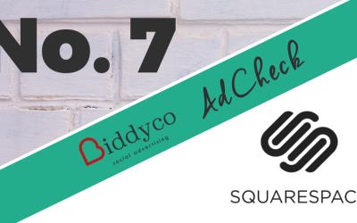 Squarespace #Adcheck – Social Ad Breakdown