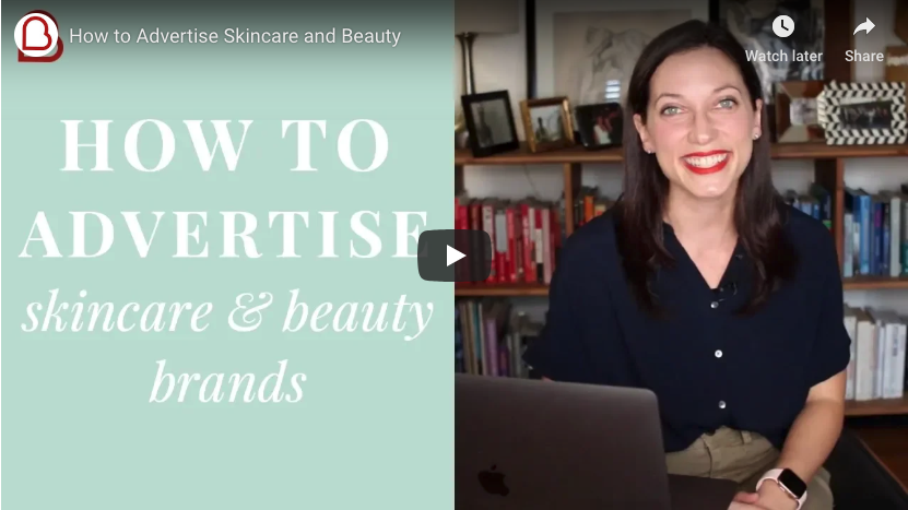 How to Advertise Skincare & Beauty