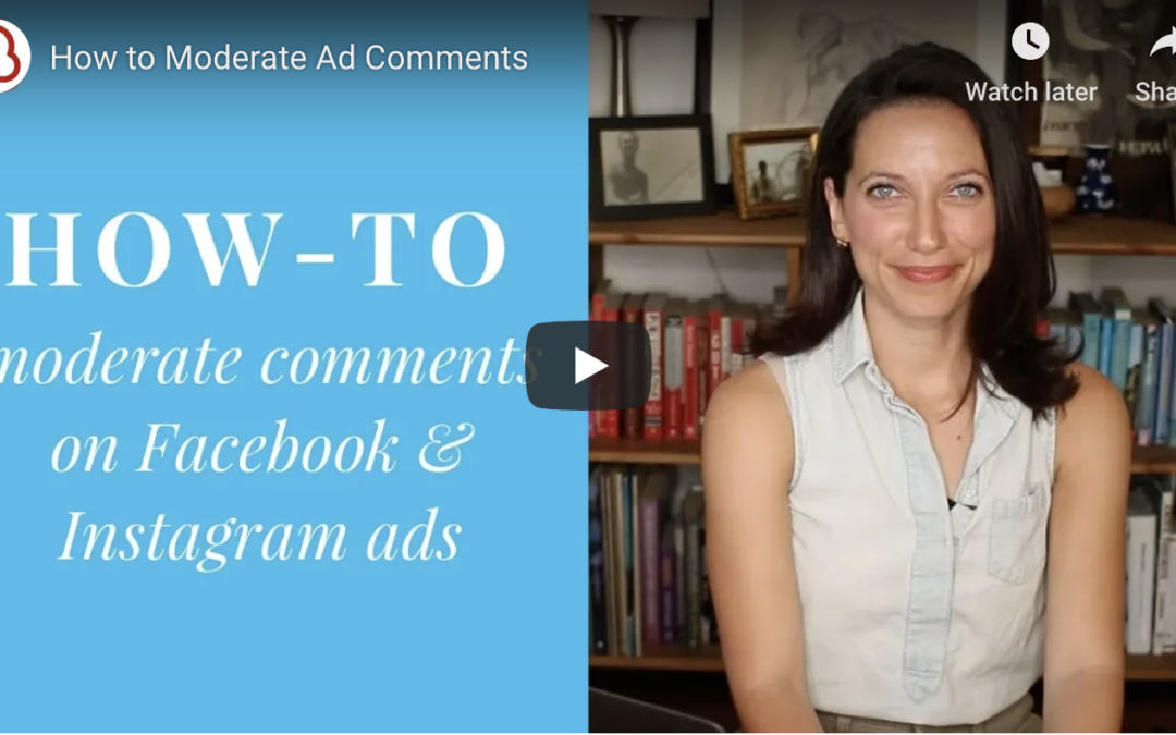 How to Moderate Facebook Ad Comments