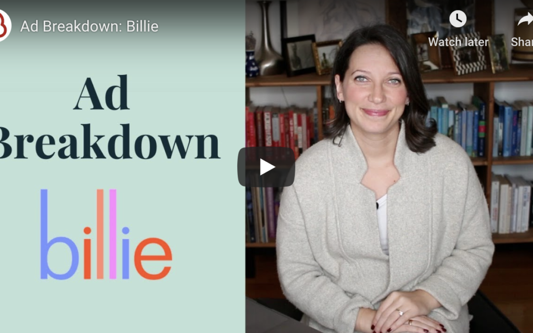 Billie's Facebook Ads: Inside Look