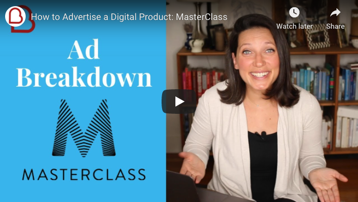 MasterClass's Facebook Ads: Inside Look
