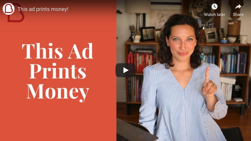 This Ad Prints Money